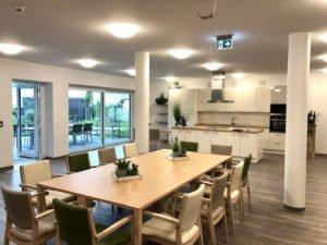 Wohnküche in der Senioren-WG Lambertus